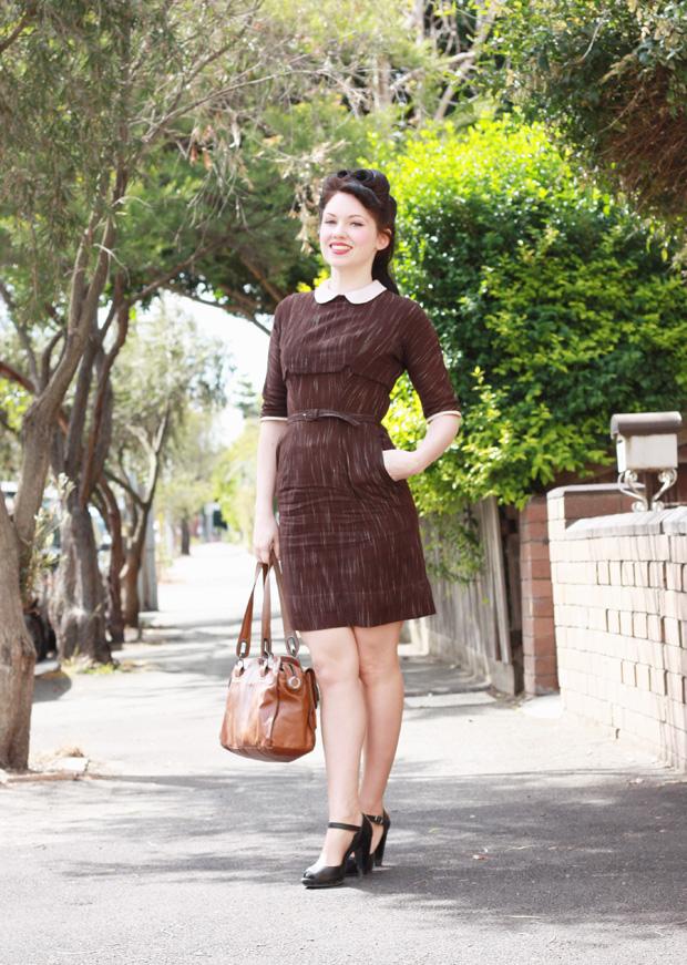 vintage forties dress b
