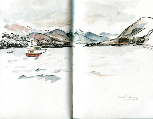 Ullapool harbor