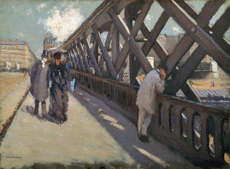 11i26 G._Caillebotte Le pont de l'Europe