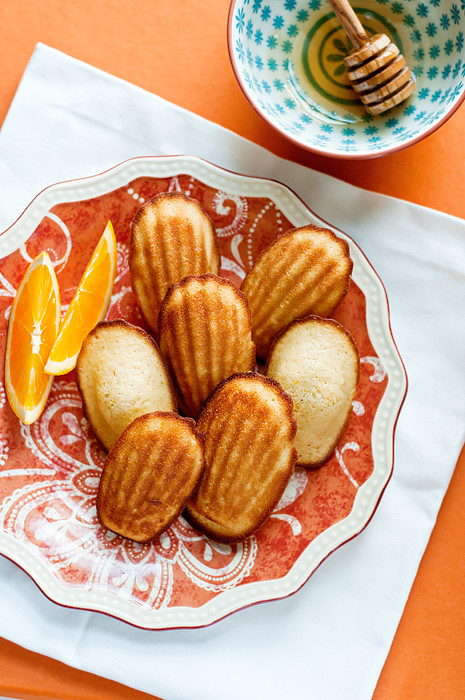 orange and honey madeleines-9