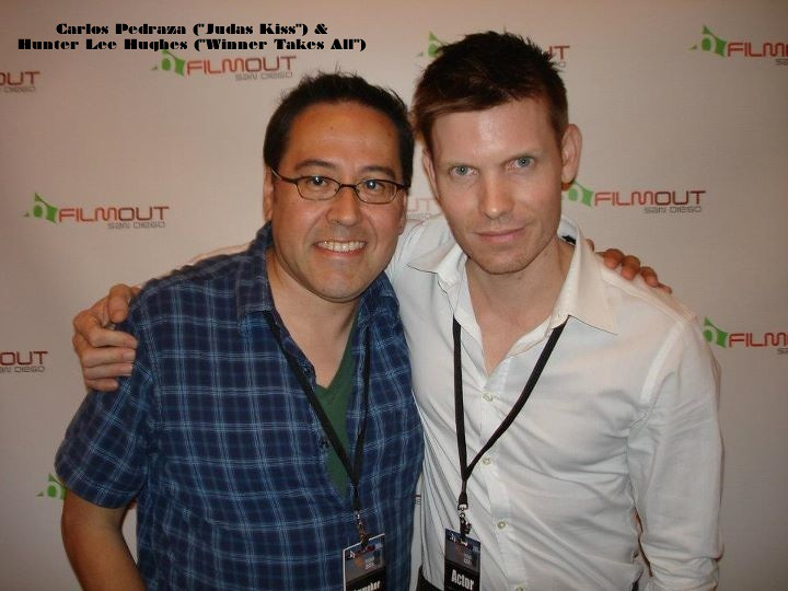 Carlos Pedraza and Hunter Lee Hughes, San Diego FilmOut