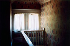 catching ghosts (scott w. h. young) Tags: light shadow love film window wall 35mm catching ghosts grandmashouse
