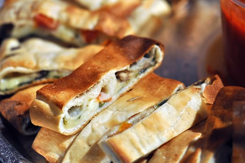 Vegetable Stromboli from Sarefino's