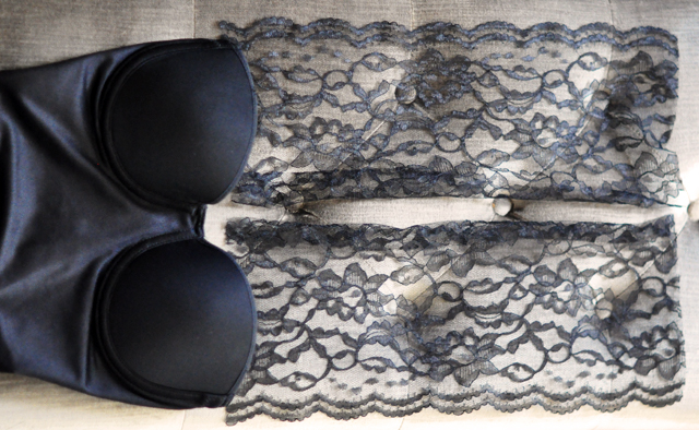 DIY Lace Halter Bustier // Old Hollywood Glamour |love Maegan
