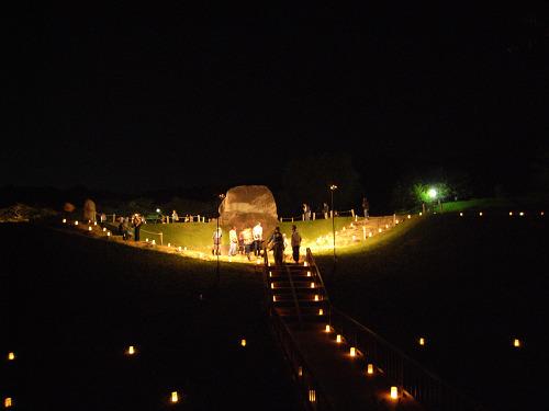 飛鳥光の回廊2011@石舞台古墳-07