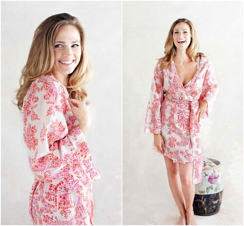 Blush Robe from Ada & Darcy