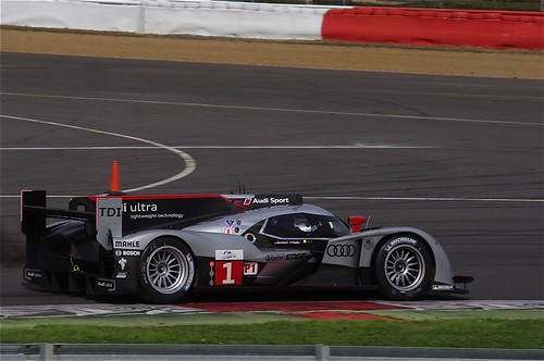 Audi Sport Team Joest's Audi R18 Driven by Fassler and Bernard