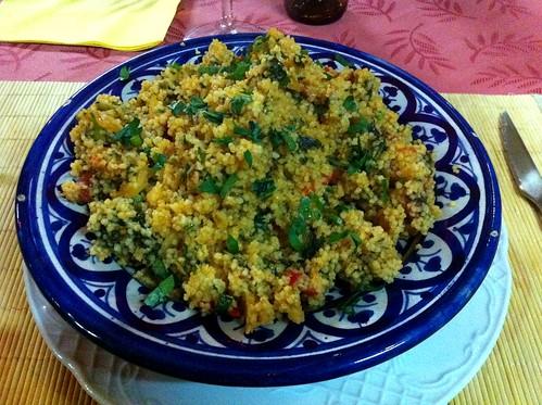 Santiago de Compostela | La Comida Restaurante | Cous cous de verdura