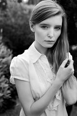 Jade (GreggBK) Tags: park portrait england bw woman london female 50mm model nikon ambientlight f18 regents d700 befintligtljus