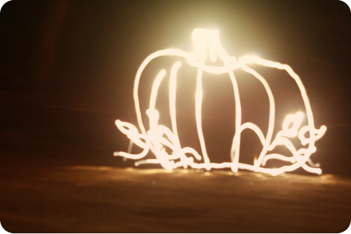{september} after dark | pumpkin
