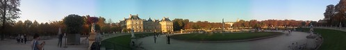 Panorama jardin du luxembourg by esquimo_2ooo