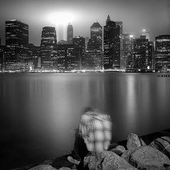 sketching the skyline (Barry Yanowitz) Tags: nyc newyorkcity longexposure blackandwhite bw ny newyork 6x6 film brooklyn mediumformat blackwhite mas memorial downtown kodak manhattan trix worldtradecenter 911 120film d76 event scanned wtc gothamist filmcamera tributeinlight memorials nycity pier1 selfdeveloped pier2 718 brooklynbridgepark kodaktrix400 rolleicordv selfdeveloping d76developer municipalartsociety masnyc municipalartsocietyofnyc tributeinlight2011 nprfilm