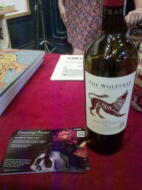 Wolftrap Wine at the Fantagraphics Bookstore & Gallery