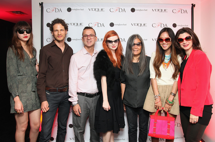 Luxottica Group and the CFDA Launch 2nd Annual Capsule Collection for Vogue Eyewear at the Sunglass Hut Flagship Boutique