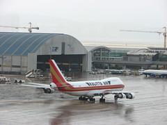 Kalitta Air (Melinda ^..^) Tags: airport rainbow aircraft flight cargo mel international melinda macau  areoplane macauinternationalairport kalittaair   chanmelmel