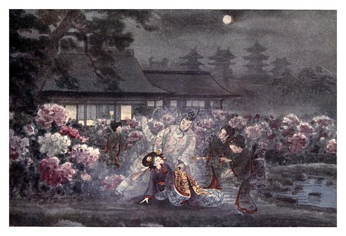 019-La princesa peonia-Ancient tales and folklore of Japan-1908-Mo-No-Yuki
