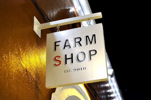 Dinner at Farmshop - Santa Monica
