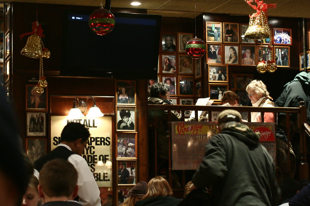Inside Carnegie Deli, New York