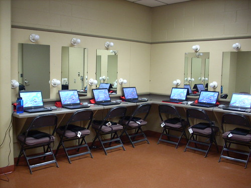 Connected Youth's Teen Press Corps Room