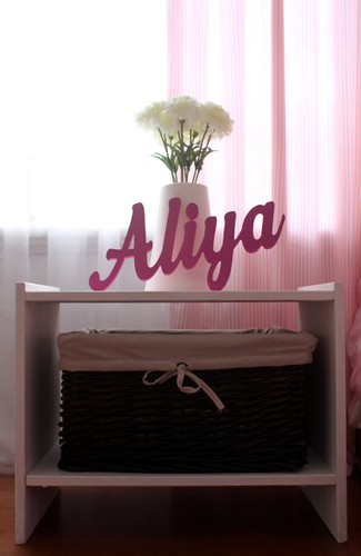 nursery bedside table