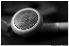 """Listen to Your Heart"" (bmahesh) Tags: blackandwhite music macro closeup ipod winner shuffle canonef100mmf28lmacroisusm gettyimagesindiaq3"