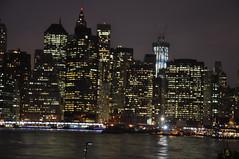 freedom  tower by night (ralphontravel) Tags: newyork skyline brooklyn night lights manhatten freedomtower
