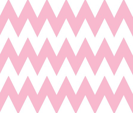 pink chevron brownpaperpackages