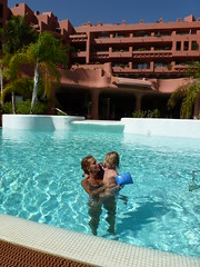 Hellen & Vincent - Sheraton La Caleta Holiday (John Beckley) Tags: family holiday hotel spain weekend tenerife sheraton canaryislands beachfront 5star fivestar lacaleta adeje starwood costaadeje sheratonlacaleta