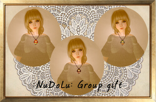 NuDoLu group gift Portrait de Matriochka AD