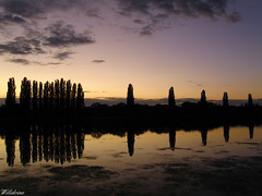 Symphonie (Wilidrine) Tags: sunset sky cloud sun france reflection nature night clouds canon river landscape photography soleil eau riviere ciel reflets couch