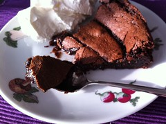 Brownie-Tarte