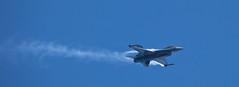 Belgian F-16 (Daniel Mac Alister) Tags: sea plane canon spain mediterranean fighter belgium aircraft flight airshow f16 belgian catalunya dslr med supersonic fighterjet 1303 canon100400f4556lis festaalcel 5dii canoneos5dmkii eos5dmkii httpwwwfestaalcelcom
