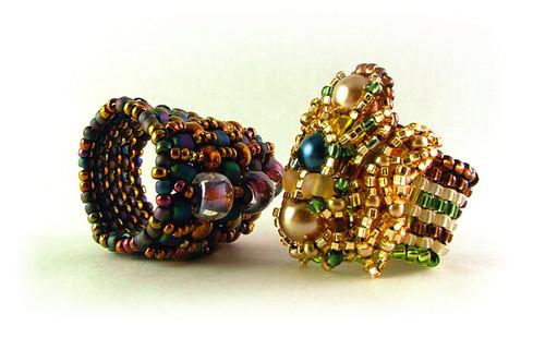 embellished rings