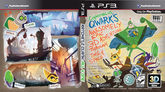 The All 4 One Box Art Forum Ratchet Clank All 4 One Ratchet Galaxy
