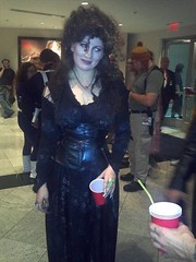 The Look (BelleChere) Tags: atlanta costume geek cosplay harrypotter convention dragoncon siriusblack yuleball bellatrixlestrange