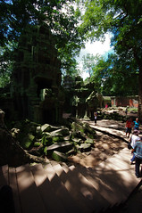 Towers of Ta Prohm (chillveers15) Tags: trees ancient ruins cambodia pentax sigma jungle 1020mm angkor wat ta carvings prohm etchings kx aspara