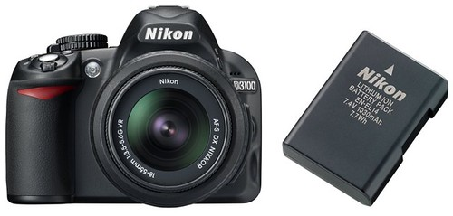 Nikon D3100 plus EN-EL14 -- Battery Life