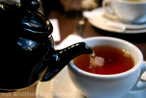 Bea's of Bloomsbury - Full Afternoon Tea £15 pperson - Pouring tea