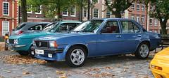 1979 OPEL ASCONA 2.0 SR BERLINA (shagracer) Tags: b car club bristol square ascona gm queens 20 avenue saloon sr meet drivers opel vauxhall 4door berlina 20sr