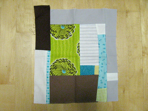 Improv pieced block