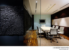 Office design by M Moser Associates (M Moser Associates | Interior Design Architecture) Tags: texture wall architecture contrast corporate idea construction furniture interior engineering associates workspace workplace environment material kuala build moser interiordesign built offices lumpur meetingroom workspaces workplaces mmoser designinspiration designideas officeinterior officegallery cooloffices designstyles inspiringoffices creativeworkplaces innovativeinteriors creativeoffices