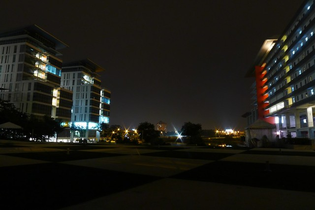 Quiet Midnight In Taylor's University