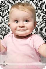 Baby G (Jessica Rae Newborns) Tags: boy baby girl eyes infant babies innocent pregnancy peaceful newborn tute damask postpartum pinktutu jmphotographix jessicaraephotography