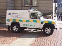Immediate Care Medical Ambulance - Chamberlain Square, Birmingham