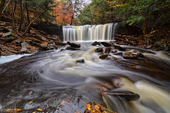 Oneida Falls (S. Nirza) Tags: nyc newyorkcity autumn fall season pennsylvania pa waterfalls rickettsglen 2011 popphoto