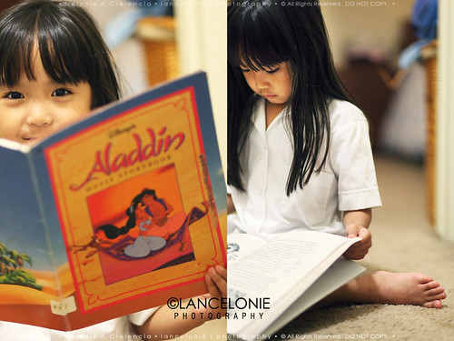 10.04.11 Borrowed Aladdin To Read by lancelonie, on Facebook
