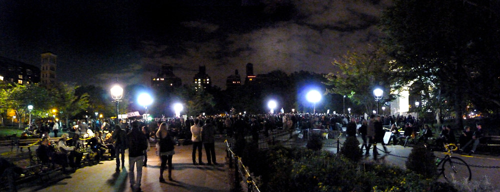 Washington Square Park Pano