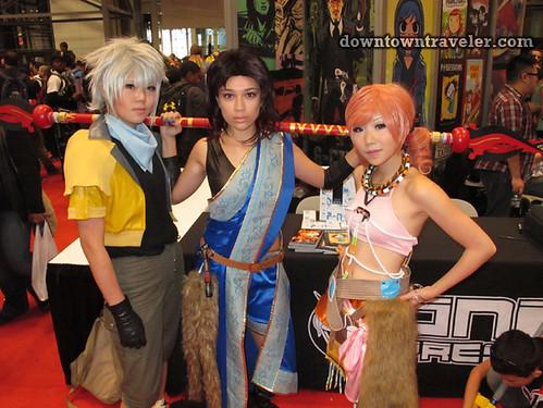 2011 NY Comic Con Final Fantasy 13 costumes