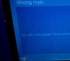 Wrong Myki