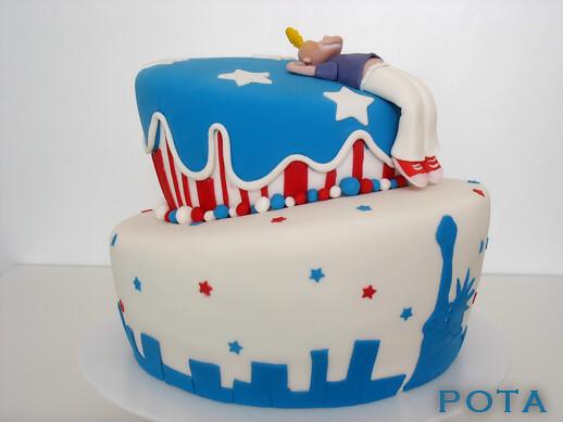 Gâteau Titef à New York, Topsy Turvy Cake
